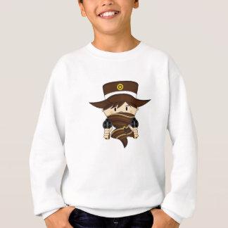 Niedlicher Cartoon-Cowboy Sweatshirt