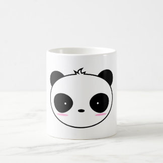 Niedlicher Cartoon-errötender Panda Kaffeetasse