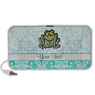 Niedlicher Cartoon-Frosch Laptop Lautsprecher