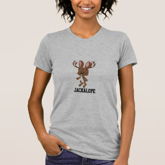 Niedlicher Cartoon Jackalope T-Shirt