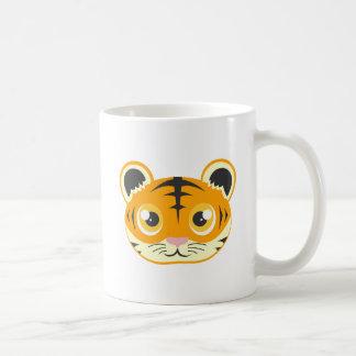 Niedlicher Cartoon-Tiger Kaffeetasse