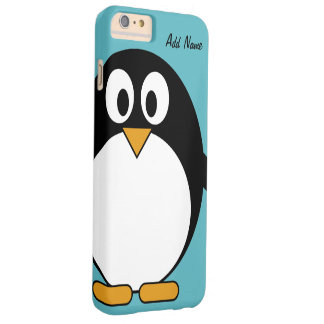 Niedlicher CartoonPenguin - iPod-Touch Barely There iPhone 6 Plus Hülle