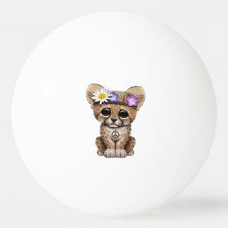 Niedlicher Cheetah-CUBHippie Tischtennis Ball