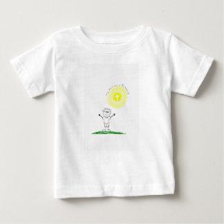 Niedlicher christlicher Charakter mit Scripture Baby T-shirt