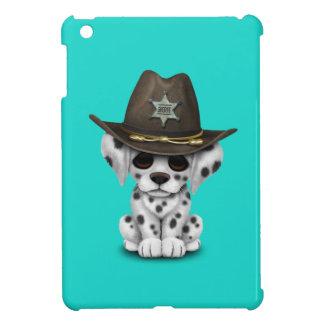 Niedlicher dalmatinischer Welpen-Sheriff iPad Mini Hülle
