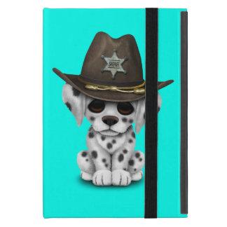 Niedlicher dalmatinischer Welpen-Sheriff Schutzhülle Fürs iPad Mini