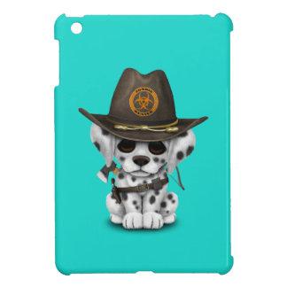 Niedlicher dalmatinischer Welpen-Zombie-Jäger iPad Mini Hülle