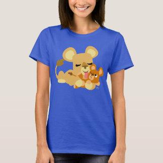 Niedlicher das Bad-Frauen-T - Shirt des