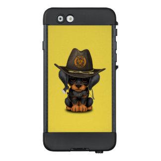 Niedlicher Dobermann-Welpen-Zombie-Jäger LifeProof NÜÜD iPhone 6 Hülle