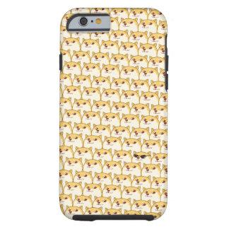 NIEDLICHER DOGE Meme Shibe Inu wow… so viele Tough iPhone 6 Hülle