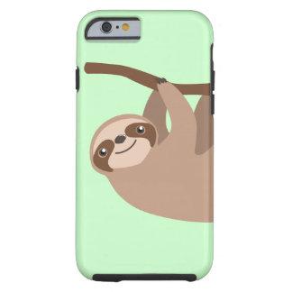 Niedlicher Drei-Toed Sloth Tough iPhone 6 Hülle