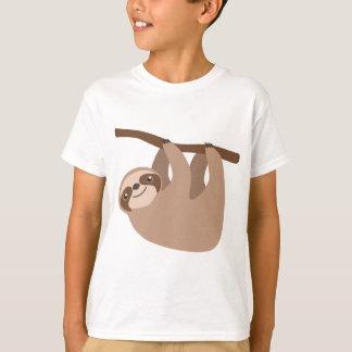 Niedlicher Drei-Toed Sloth T-Shirt