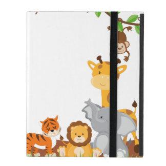 Niedlicher Dschungel-Baby-Tiere Powis iPad 2/3/4 Schutzhülle Fürs iPad