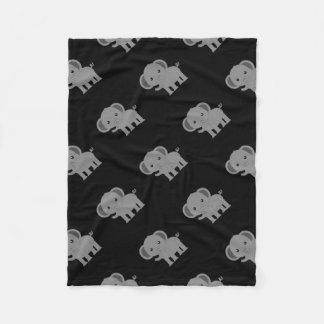 Niedlicher Elefant Fleecedecke