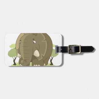 Niedlicher Elefant Kofferanhänger