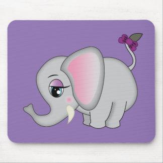 Niedlicher Elefant Mauspads