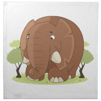 Niedlicher Elefant Serviette