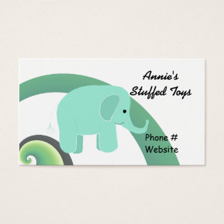Niedlicher Elefant Visitenkarte