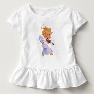 Niedlicher Engel, der Violine spielt Kleinkind T-shirt