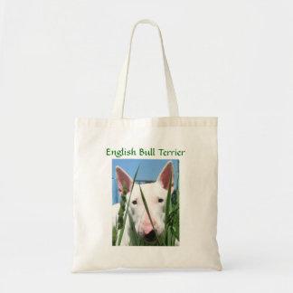 Niedlicher Englisch-Stier-Terrier Tragetasche