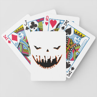 Niedlicher Entwurf Halloweens Bicycle Spielkarten