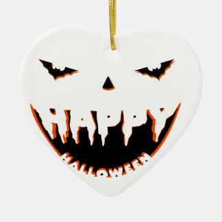 Niedlicher Entwurf Halloweens Keramik Herz-Ornament
