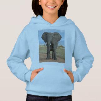 Niedlicher entzückender Schicksals-Elefant Hoodie