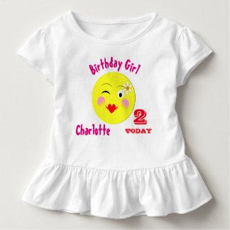 Niedlicher erster Geburtstags-spezielles Kleinkind T-shirt