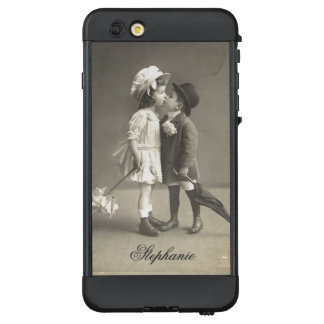 Niedlicher erster Kuss antike Photograp c LifeProof NÜÜD iPhone 6 Plus Hülle
