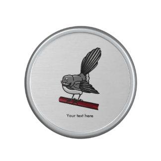 Niedlicher Fantail Neuseeland und Australasian Lautspercher