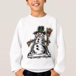 Niedlicher FeiertagSnowman Sweatshirt