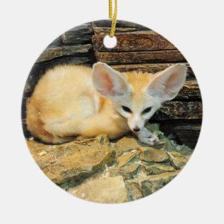 Niedlicher fennec Fuchs Keramik Ornament