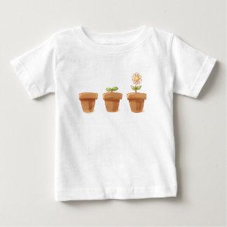 Niedlicher Flowerpot Baby T-shirt
