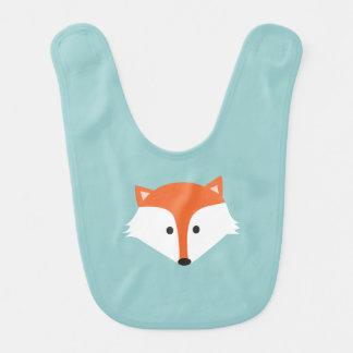 Niedlicher Fox-Baby-Schellfisch Babylätzchen