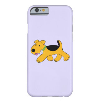 Niedlicher Frisky Terrier kaum dort iPhone 6/6s Barely There iPhone 6 Hülle
