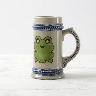 Niedlicher Frosch Bierglas