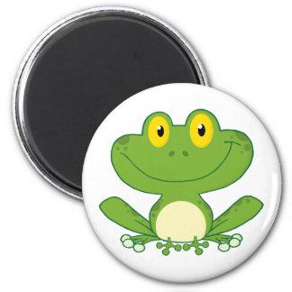 Niedlicher Frosch-Cartoon-Charakter Magnete