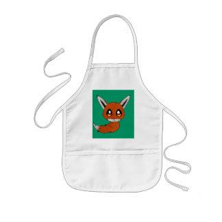 niedlicher Fuchs Kinderschürze