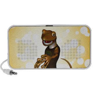 Niedlicher Gecko Reise Lautsprecher