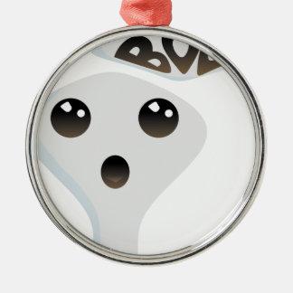 Niedlicher Geist Silbernes Ornament