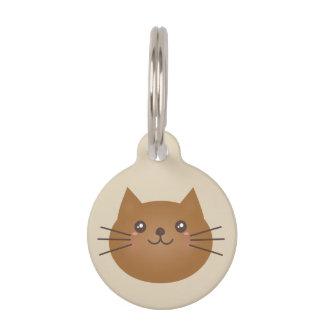 Niedlicher Girly Kawaii Kitty-Katzen-Liebhaber Tiernamensmarke