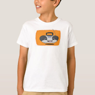 Niedlicher glücklicher Boombox T - Shirt