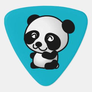 Niedlicher glücklicher Pandaschwarzweiss-bär Plektrum