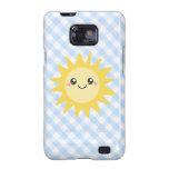Niedlicher glücklicher Sun Samsung Galaxy S2 Case