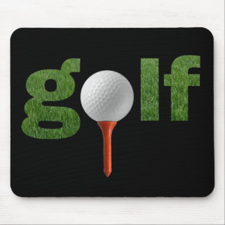 Niedlicher Golf-Sport-Entwurf Mousepad