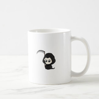 Niedlicher grimmiger Sensenmann Kaffeetasse
