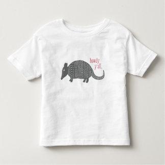 Niedlicher grüß dich Gürteltier-Texas-T - Shirt