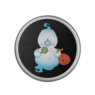 Niedlicher Halloween-Geist-Cartoon Lautspercher