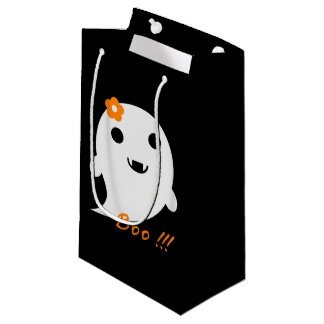 Niedlicher Halloween-Geist Kleine Geschenktüte