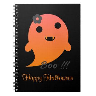Niedlicher Halloween-Geist Notizblock